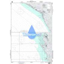 Region 2 - Central, South America, Waterproof NGA Chart 21542: Puerto Sandino and Approaches