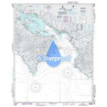 Region 2 - Central, South America, Waterproof NGA Chart 21544: Golfo de Nicoya