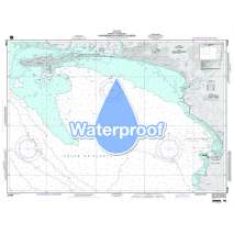 Region 2 - Central, South America, Waterproof NGA Chart 21546: Puntarenas and Puerto Caldera