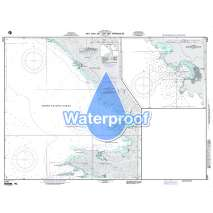 Region 2 - Central, South America, Waterproof NGA Chart 21547: San Juan del Sur and Approaches