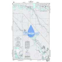 Region 2 - Central, South America, Waterproof NGA Chart 21602: the Panama Canal From Gamboa to Balboa