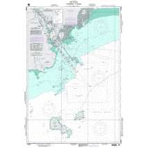Region 2 - Central, South America, NGA Chart 21603: Approaches to Balboa