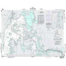 Region 2 - Central, South America :NGA Chart 21604: the Panama Canal From Gatun to Gamboa
