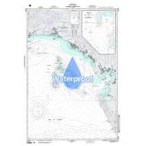 Region 2 - Central, South America, Waterproof NGA Chart 21605: Panama to Bahia Pina