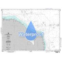 Region 2 - Central, South America, Waterproof NGA Chart 24016: Rio Parnaiba to Recife