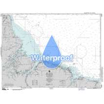 Region 2 - Central, South America, Waterproof NGA Chart 24020: Baia Do Oiapoque to Rio Parnaiba