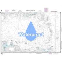 Region 2 - Central, South America, Waterproof NGA Chart 25001: Caribbean Sea - Eastern Part