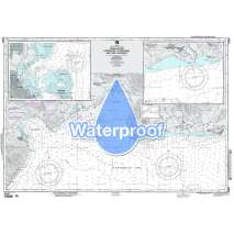 Region 2 - Central, South America, Waterproof NGA Chart 25842: Approaches to Barahona and Punta Palenqu