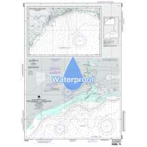 Region 2 - Central, South America, Waterproof NGA Chart 25848: Approaches to Santo Domingo