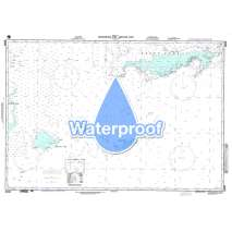 Region 2 - Central, South America, Waterproof NGA Chart 26050: Nicaraguan Rise -  - Eastern Part