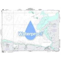 Region 2 - Central, South America, Waterproof NGA Chart 26140: Approaches to Manzanillo Bay