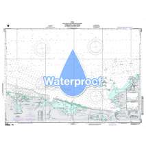 Region 2 - Central, South America, Waterproof NGA Chart 26142: Approaches to Cap - Haitien and Bahia de Monte Cristi