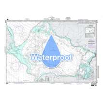 Region 2 - Central, South America, Waterproof NGA Chart 26184: Approach to Port - Au - Prince