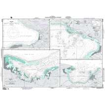 Region 2 - Central, South America, NGA Chart 26188: Plans In The Golfe De La Gonave
