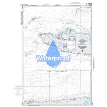 Region 2 - Central, South America, Waterproof NGA Chart 26220: Cabo Cruz to Santiago de Cuba Including