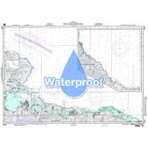 Region 2 - Central, South America, Waterproof NGA Chart 26244: Punta Silencio to Bahia Sama