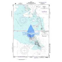 Region 2 - Central, South America, Waterproof NGA Chart 26255: Racoon Cut
