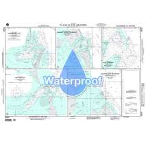 Region 2 - Central, South America, Waterproof NGA Chart 26257: Plans In the Bahamas - Highbourn Cut