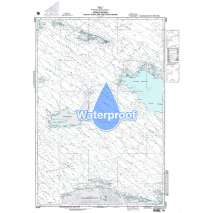 Region 2 - Central, South America, Waterproof NGA Chart 26260: Passages Between Acklins Islands Haiti