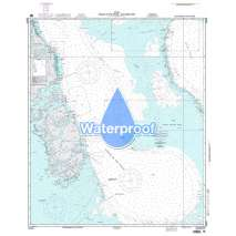 Region 2 - Central, South America, Waterproof NGA Chart 26295: Tongue of the Ocean - Southern Part