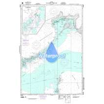 Region 2 - Central, South America, Waterproof NGA Chart 26306: Eleuthera West Part (Bahamas)