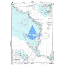Region 2 - Central, South America, Waterproof NGA Chart 26307: Eleuthera - East Part