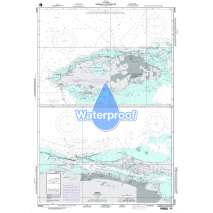 Region 2 - Central, South America, Waterproof NGA Chart 26309: Nassau and Approaches
