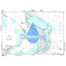 Region 2 - Central, South America, Waterproof NGA Chart 26321: Hope Town and Approaches