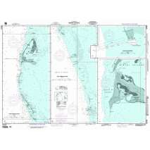 Region 2 - Central, South America, NGA Chart 26324: Bimini Islands; Panel A North Bimini Islands