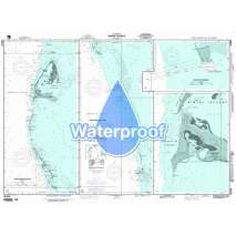 Region 2 - Central, South America, Waterproof NGA Chart 26324: Bimini Islands; Panel A North Bimini Islands
