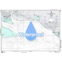Region 2 - Central, South America, Waterproof NGA Chart 27161: Cayo Miguel to Cayo Blanco