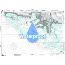 Region 2 - Central, South America, Waterproof NGA Chart 27183: Approaches to the Port of Casilda