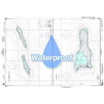 Region 2 - Central, South America, Waterproof NGA Chart 27241: Little Cayman and Cayman Brac