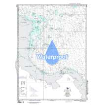 Region 2 - Central, South America, Waterproof NGA Chart 28006: Caribbean Sea - Southwest Part