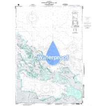 Region 2 - Central, South America, Waterproof NGA Chart 28041: Approaches to Bocas del toro and Laguna Chiriqui