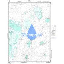 Region 2 - Central, South America, Waterproof NGA Chart 28050: Nicaraguan Rise - Western Part