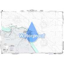 Region 2 - Central, South America, Waterproof NGA Chart 28051: Costa Rica - Caribbean Sea
