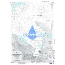 Region 2 - Central, South America, Waterproof NGA Chart 28164: Approaches to Puerto Barrios and Santo Tomas de Castilla