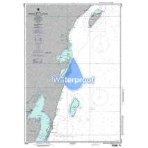 Region 2 - Central, South America, Waterproof NGA Chart 28190: Ambergris Cay to Isla Cozumel