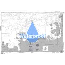 Region 2 - Central, South America, Waterproof NGA Chart 29005: Cape Herlacher to Matha Strait