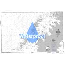 Region 2 - Central, South America, Waterproof NGA Chart 29127: Matha Strait to Argentine Islands