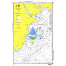Miscellaneous International, Waterproof NGA Chart 72: Indian Ocean - Western Portion