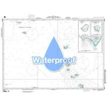 Region 8 - Pacific Islands, Waterproof NGA Chart 81012: Normorik Atoll to Nonouti - Marshall Is.