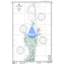 Region 8 - Pacific Islands, Waterproof NGA Chart 81145: Palau Is Northern Part [West Caroline Islands]