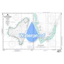 Region 8 - Pacific Islands, Waterproof NGA Chart 81166: Ngulu Atoll Federated States of Micronesia