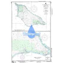 Region 8 - Pacific Islands, Waterproof NGA Chart 81587: North Pacific Ocean Trust Territory of the Pacific Islands (U. S. ) Marshall Islands Likiep (Rikieppu) Atoll