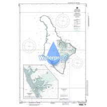 Region 8 - Pacific Islands, Waterproof NGA Chart 81817: Jaluit Atoll Marshall Islands