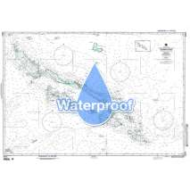 Region 8 - Pacific Islands, Waterproof NGA Chart 82015: Solomon Is [Papua New Guinea and Solomon Islands]
