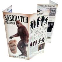 Sasquatch Research :Sasquatch Field Guide (Folding Pocket Guide)