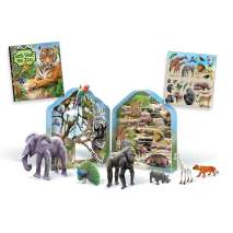 Jungle & Zoo Animals :Let's Explore: Zoo